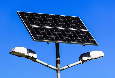 Image result for Paneles Solares y Postes Solares