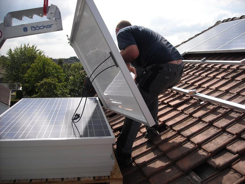 Instalación de paneles solares para residencia